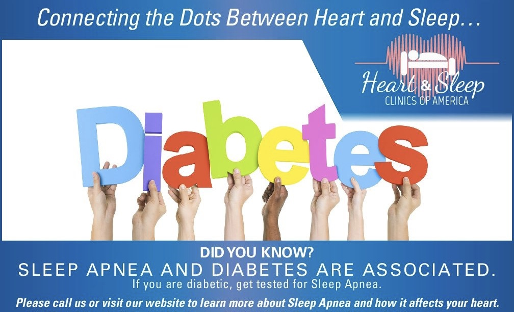 Did you know? Sleep Apnea and Diabetes are associated